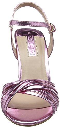 Dorothy Perkins Damen Spiral High Heel Sandalen mit Absatz Rosa (Blush)