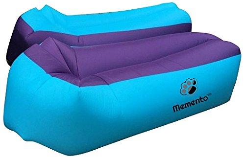 mementotm Original 2nd Generation Air-Liege, aufblasbare Couch/Bett Perfekte zum Entspannen am Strand, Pool, Camping & und den meisten geeignet Innen, während TV. - 4