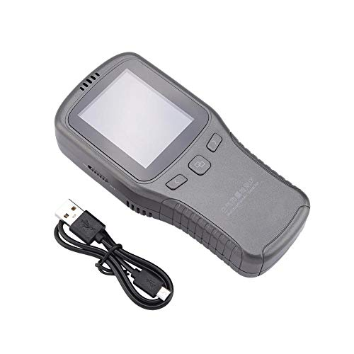 Digitaler Luftqualitätsmonitor, LCD-Anzeige TVOC PM10 PM2.5 Luftqualitätsgasdetektor-Monitor -