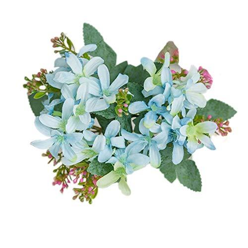 Shangwelluk narciso per decorazioni bomboniere matrimonio compleanno natale fiorellini artificiali per lavoretti bricolage di biglietti auguri
