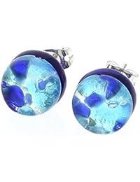 GlassOfVenice - Pendientes de cristal de Murano con reflejos venecianos 6c63f13e969