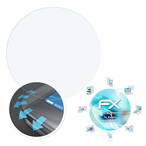 atFoliX Schutzfolie passend für Huawei Honor Band Z1 Folie, ultraklare & Flexible FX Bildschirmschutzfolie (3X)