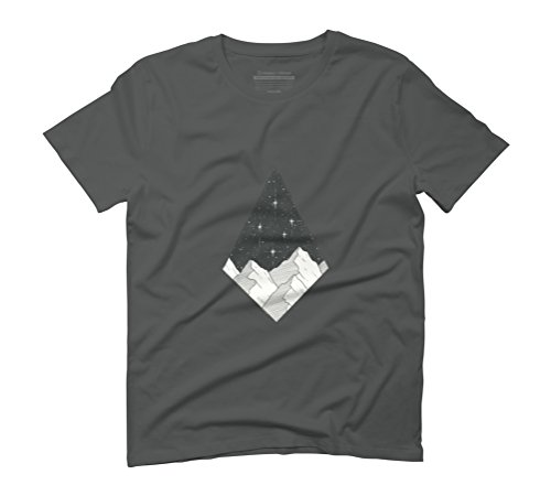 Southern Cross Men's Graphic T-Shirt - Design By Humans Anthracite