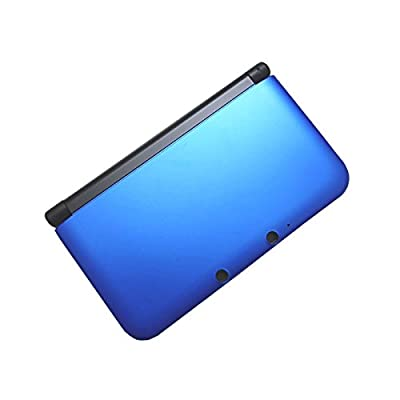 OSTENT Full Housing Shell Case Cover Replacement Compatible for Nintendo 3DS XL 3DS LL - Color Blue from OSTENT