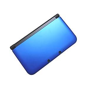 OSTENT Full Housing Case Cover Ersatz kompatibel für Nintendo 3DS XL 3DS LL – Farbe Blau