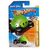 ANGRY BIRDS MINION GREEN PIG Hot Wheels 2012 New Models Series #35/50 - Collectible Die Cast Car by TY-P2C