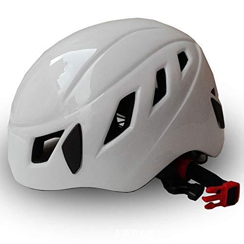 Preisvergleich Produktbild LPC Männer und Frauen Leichte Kletterhelme Caving Rettung Abseilen Helme Outdoor Helm Reithelme Mode (Farbe : White)