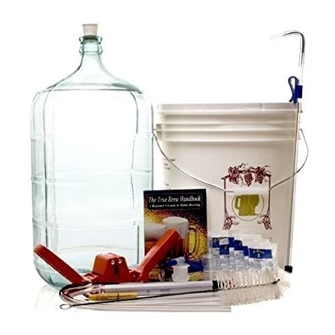 BSG Gold DP-GFZY-7I2K Beer Homebrew Kit with 6 Gallon Glass Carboy by Monster Brew Home Brewing Supplies