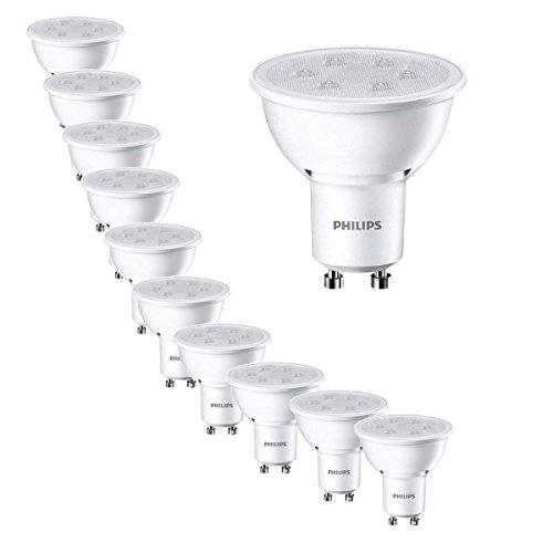 Philips LED Lampe ersetzt 35W, GU10, warmweiß (27000 Kelvin), 250 Lumen, 8718291789970 [Energieklasse A+] (35)
