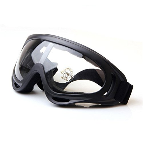 Z-P Unisex Adult Outdoor Sports Style Motorcycle Cycling Windproof Dustproof Ski Snowboard Hiking Equipment Anti-reflection Shield Goggles UV400