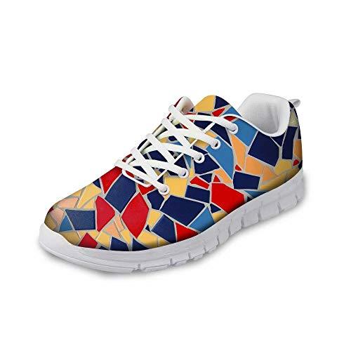 Jugend-schokolade (MODEGA Bunte Turnschuhe Schuhe Männer Turnschuhe für Jungen Schuhe für Frauen Plus Größe Bowlingschuhe Jugend Laufschuh Männer heiße Schokolade Design Schuhe Frauen Joggen Größe 45 EU|9.5 UK)