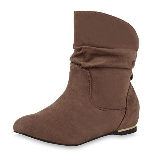 Japado - Stivali Donna cachi