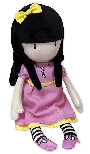 Gorjuss M-08-G Muñeca de Trapo en Display - The Secret, 30 cm