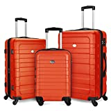 Best Luggage Sets - Fochier Expandable Luggage 3 Pieces Set Hardshell Lightweight Review