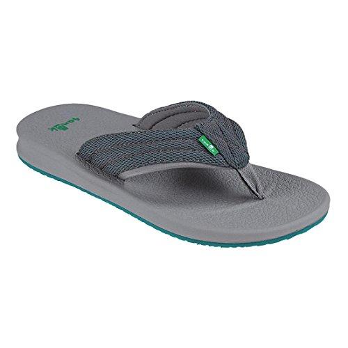 Sanuk Brumeister Sandals Charcoal/Grey/Teal