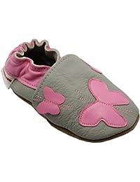 092ae50ecec8d Soft and Chic de BBKDOM - Chaussons bébé et enfant en cuir souple de  qualité supérieure