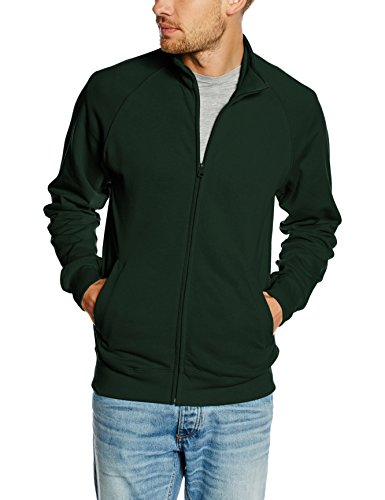 fruit-of-the-loom-ss127m-sweat-shirt-homme-green-bottle-green-x-large