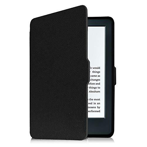 Fintie Hülle für Kindle 8. Generation - Die dünnste und leichteste Schutzhülle Tasche mit Auto Sleep/Wake Funktion für Amazon Kindle (8. Generation - 2016 Modell), Schwarz (6 Tasche Tablet Zoll Kinder Für)