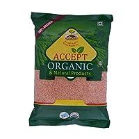 Accept Organic Masoor Dal/Red Lentils (1 kg)