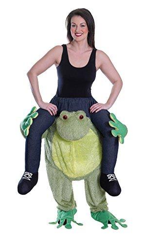 Back Piggy Kostüm - Frog - Piggy Back-Kostüm - Adult Kostüm