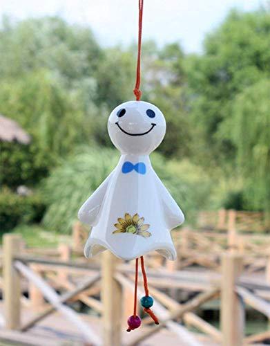 piel kleine sonnige Puppe Anhänger DIY hängende Tür Dekoration Cartoon Windspiel für zu Hause/im Freien ()