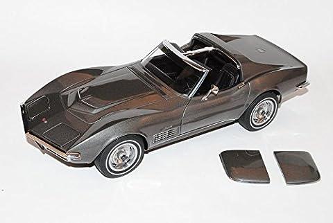 Chevy Chevrolet Corvette C3 Coupe Stingray Grau 1967-1982 71173 1/18 AutoArt Modell Auto