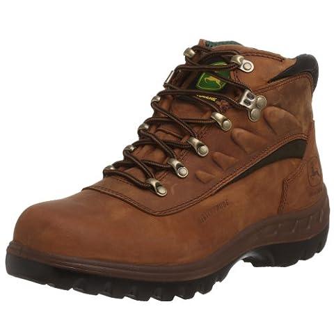 John Deere Jd3604pour homme WP ST travail Confort Technologie Hiker Bottes de travail - marron - marron,