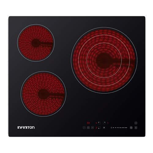 IN Placa VITROCERAMICA INFINITON VITRO316 (Deteccion de Olla, Control Tactil, 9 Niveles...