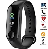 Meya Happy M3 Smart Band for Men Women Fitness Tracker for Sports/Gym Lovers