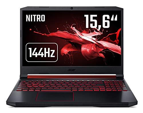 Acer Nitro 5 (AN515-43-R90F) 39, 6cm (15, 6 Zoll 144Hz Full-HD IPS matt) Gaming Lapotop (AMD Ryzen 5 3550H, 8 GB RAM, 512 GB PCIe SSD, AMD Radeon RX 560x, Win 10) Schwarz Acer Amd-bluetooth-laptops