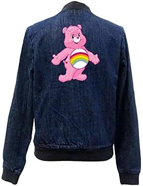 Old Rainbow Bear Bomber Chaqueta Girls Jeans Certified Freak