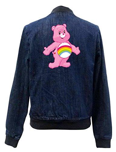 Old Rainbow Bear Jeans Bomberjacke Certified Freak-M