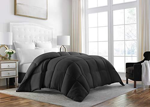 Sleep Wiederherstellung Down Alternative Tröster 1400Series-Beste Hotel Qualität Hypoallergen Bettwäsche Einsatz Twin/Twin XL Schwarz -