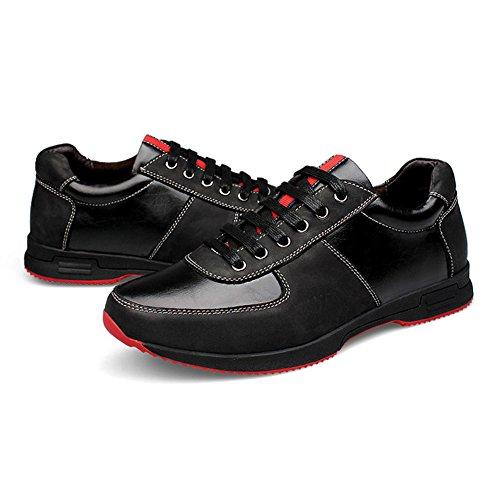 Chaussure de Sport Homme Respirant Randonné Course Chukka Running Sneakers léger Fitness Basket résistance Outdoors athlétique pour adulte jeune Noir
