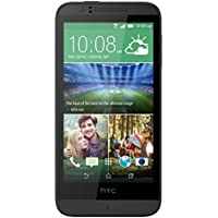 HTC Desire 510 Smartphone (1,2GHz Quadcore, 11,9 cm (4,7 Zoll) Touchscreen, 1GB RAM, 8GB interner Speicher, 5 Megapixel Kamera, Android) meridian gray