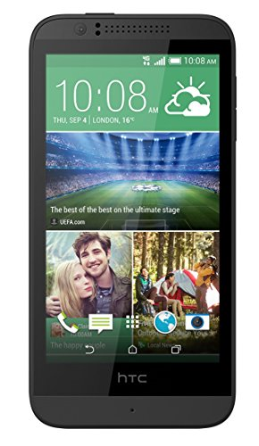 HTC Desire 510 Smartphone (1,2GHz Quadcore, 11,9 cm (4,7 Zoll) Touchscreen, 1GB RAM, 8GB interner Speicher, 5 Megapixel Kamera, Android) Meridian Gray - Hand-held-gps-fall