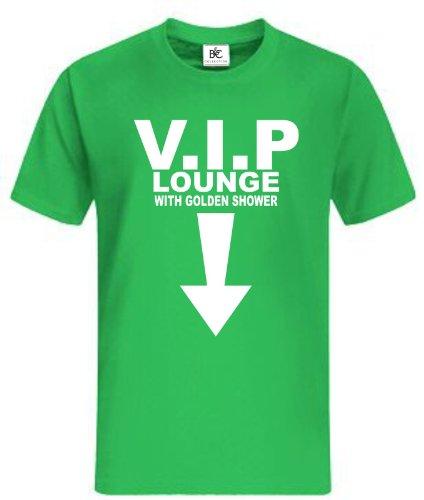 V.I.P Fun T-Shirt Fan Shirt Kult Sprüche Grün