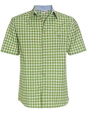 Distler Herrenhemd, Trachtenmode Herren-Hemd,Hemd,Trachten-Hemd,Karo-Hemd,