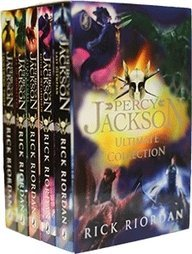 Percy Jackson 5 Books Collection [Paperback] by Rick Riordan