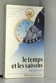 Le temps et les saisons, en poésie par Jacques Charpentreau
