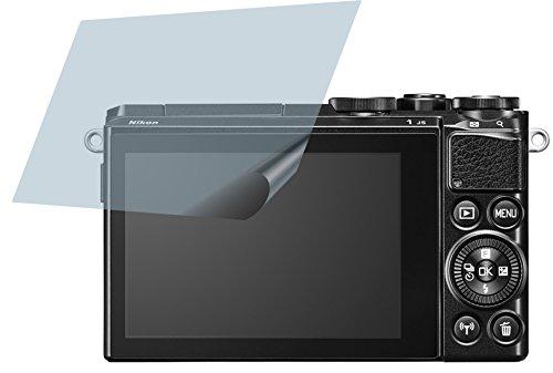 Nikon 1 J5 (2 Stück) PREMIUM Displayschutzfolie Bildschirmschutzfolie ANTIREFLEX Schutzhülle Displayschutz Displayfolie Folie (Nikon 1 J5)