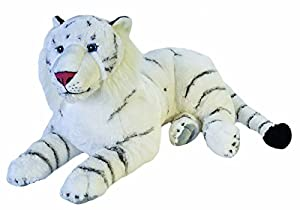 Wild Republic - CK Jumbo Tigre Blanco de Peluche, 76 cm (19548)