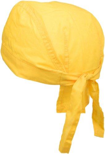 styleBREAKER Bandana Kopftuch/Bikertuch 04023012 (Gelb) Retro Snapback Hats