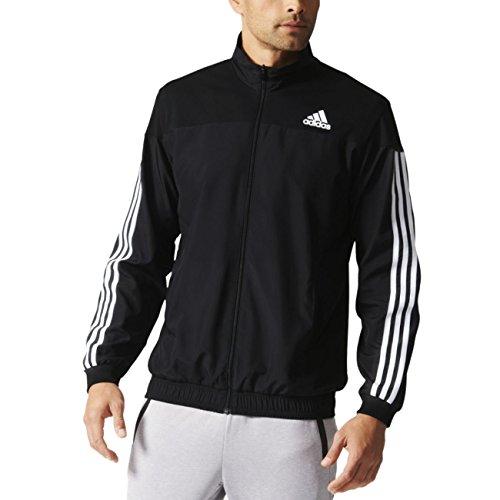 adidas Jacke Club, schwarz/Weiß, M, AI0733