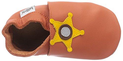 Bobux 4607, Premiers Pas Chaussons Mixte bébé Orange (Orange)