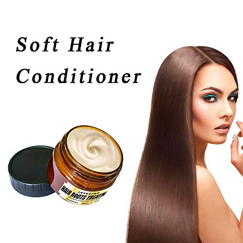 Repair-Haarkur, Haarmaske, Hair Treatment, Conditioner Haarkur, Argan oil & Keratin Haarkuren strapaziertes und trockenes Haare, Hair Mask für gefärbte Haarpflege & Haarglättung, 60 ml -