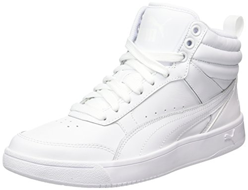 Puma Unisex-Erwachsene Rebound Street V2 L Hohe Sneaker, Weiß White White 2, 42 EU