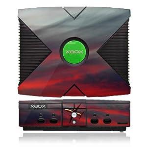 DeinDesign Skin kompatibel mit Microsoft Xbox Folie Sticker Flugzeug Himmel Sonnenuntergang