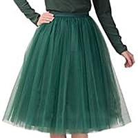 Pantaloncini da donna Vintage Petticoat gonna tutù balletto bolle multicolore