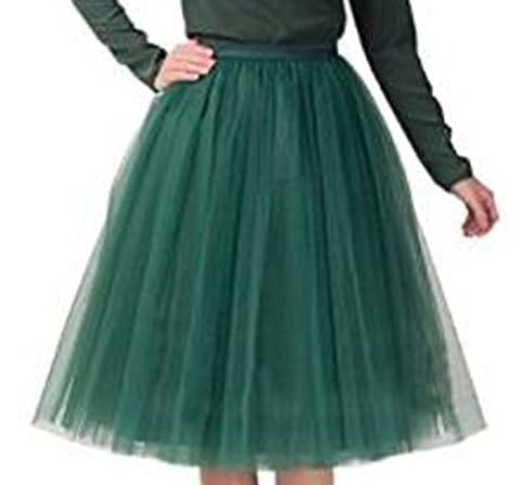 Women's Short Vintage Petticoat Skirt Ballet Bubble